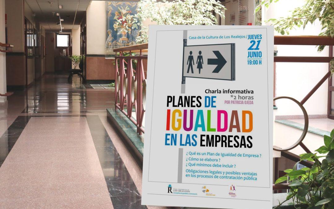 Los Realejos ofrece este jueves una charla gratuita sobre planes de igualdad en las empresas