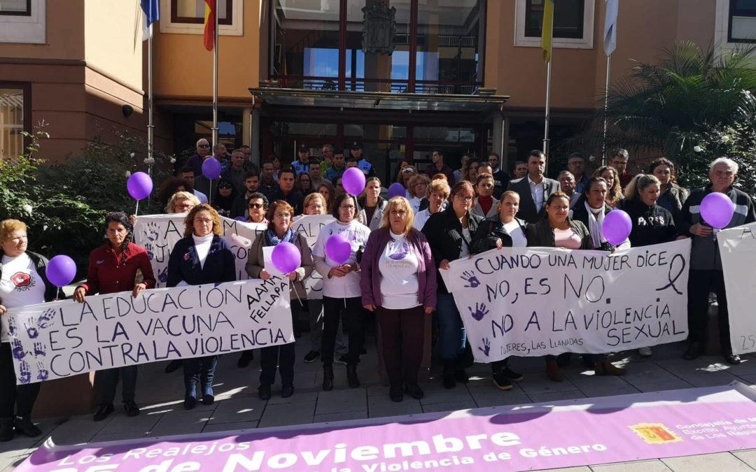 Los Realejos alza la voz frente a la violencia de género