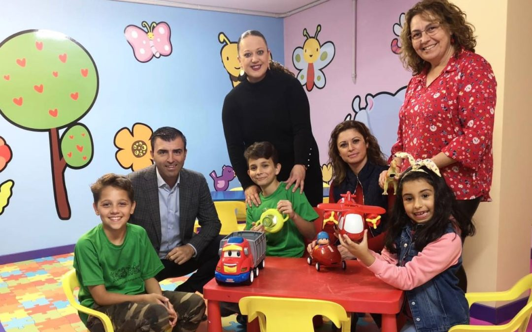 Las seis ludotecas realejeras ofrecen programación lúdico educativa en horario matinal hasta el próximo 5 de enero
