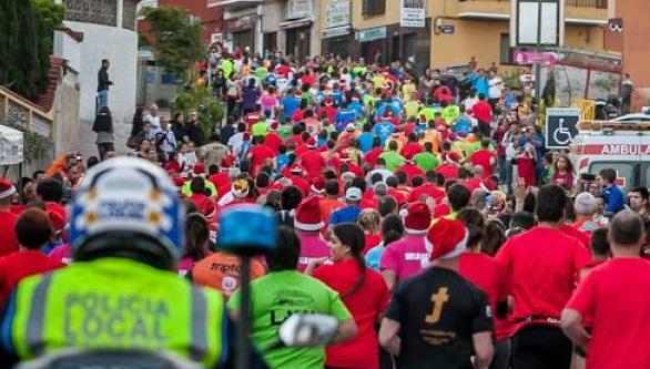 Los Realejos despide su año deportivo este domingo 30 con su multitudinaria y popular San Silvestre