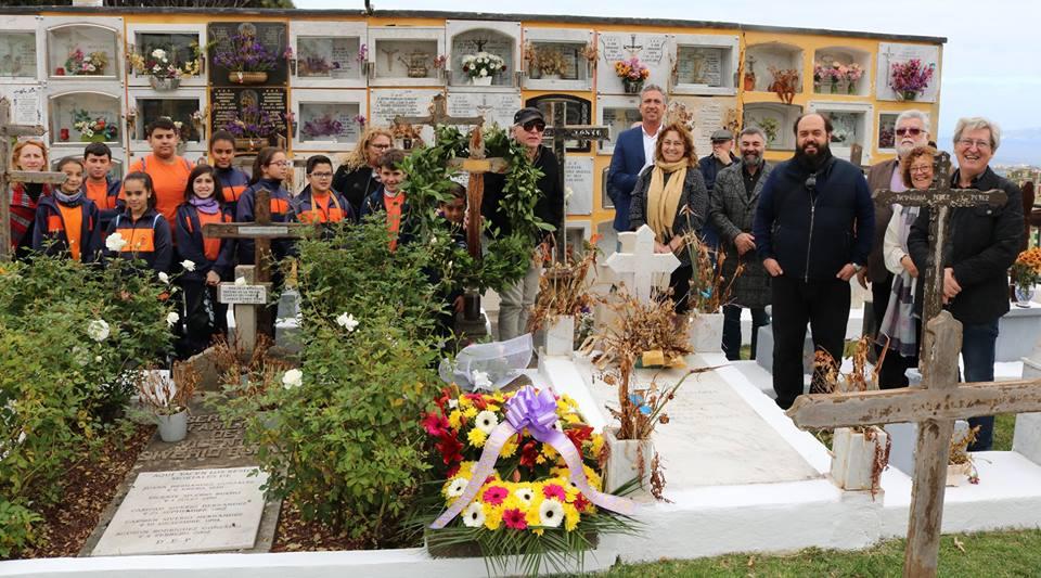 Los Realejos rinde homenaje a Agustín Espinosa en el 80 aniversario de su muerte