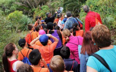 Ayuntamiento y Aula de la Naturaleza Rambla de Castro ofrecen rutas gratuitas a alumnado de Los Realejos
