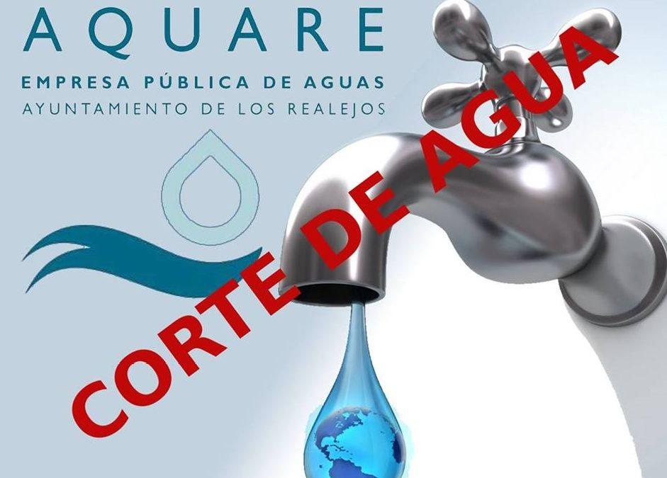 La conexión de la nueva red de abastecimiento de la Avenida de Canarias provocará un corte de agua este lunes, 4 de febrero