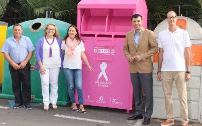 Los realejeros aportaron 80.640 kilos de ropa y calzado en los contenedores municipales para la lucha contra el cáncer