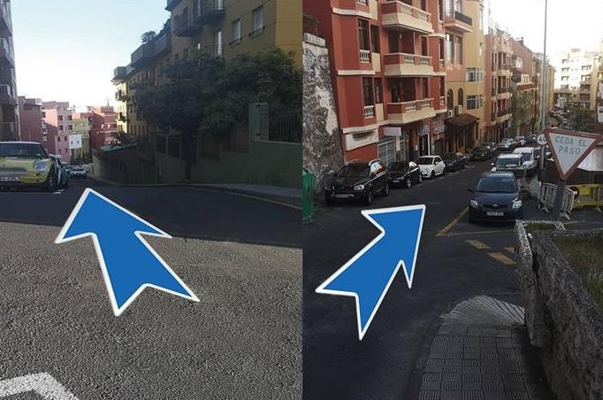 La calle El Puente recupera su sentido descendente desde este jueves 14 de febrero