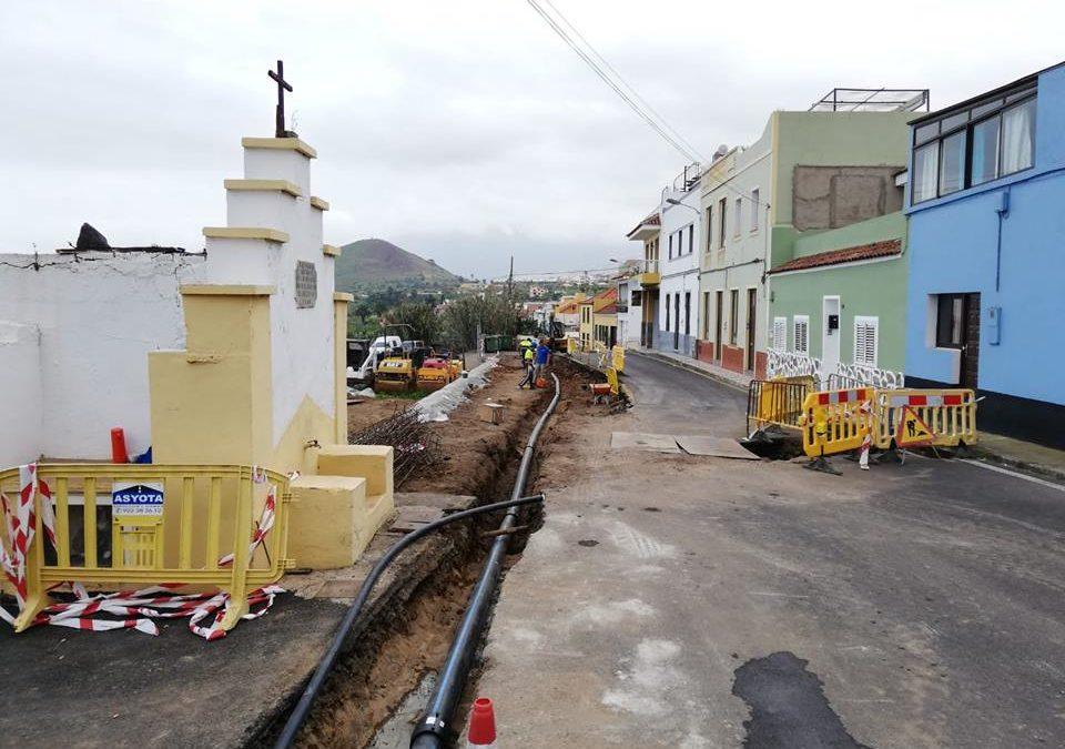 La sustitución de la red de abastecimiento de agua en La Carrera y El Jardín producirá cortes en el suministro