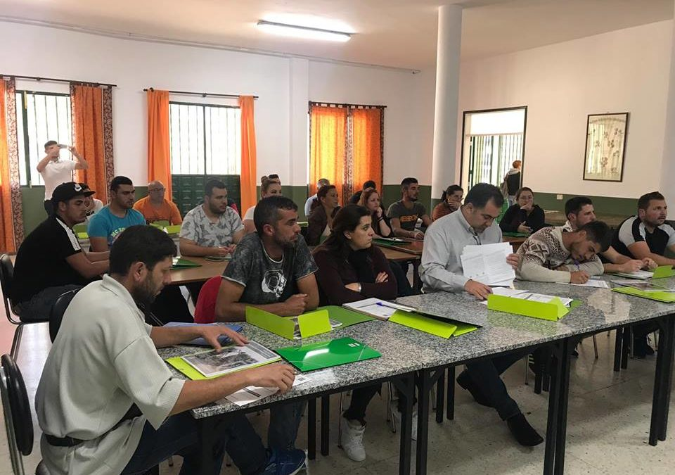 Los Realejos forma a 25 personas en manipulación de productos fitosanitarios en La Ferruja