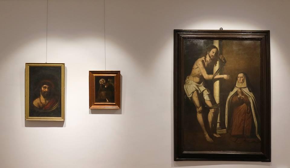 Los Realejos abrió este viernes una exposición con colecciones particulares de la Pasión de Cristo