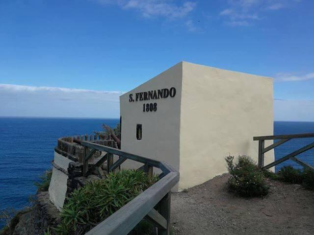 El Fortín de San Fernando mejora su imagen y recupera su rotulación tras las obras de contención
