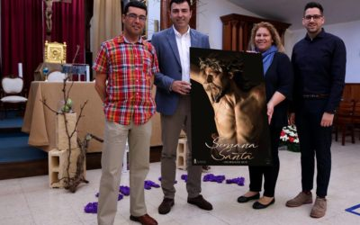 El Cristo de la Entrega de la parroquia de Guadalupe de Toscal Longuera ilustra la Semana Santa 2019 realejera