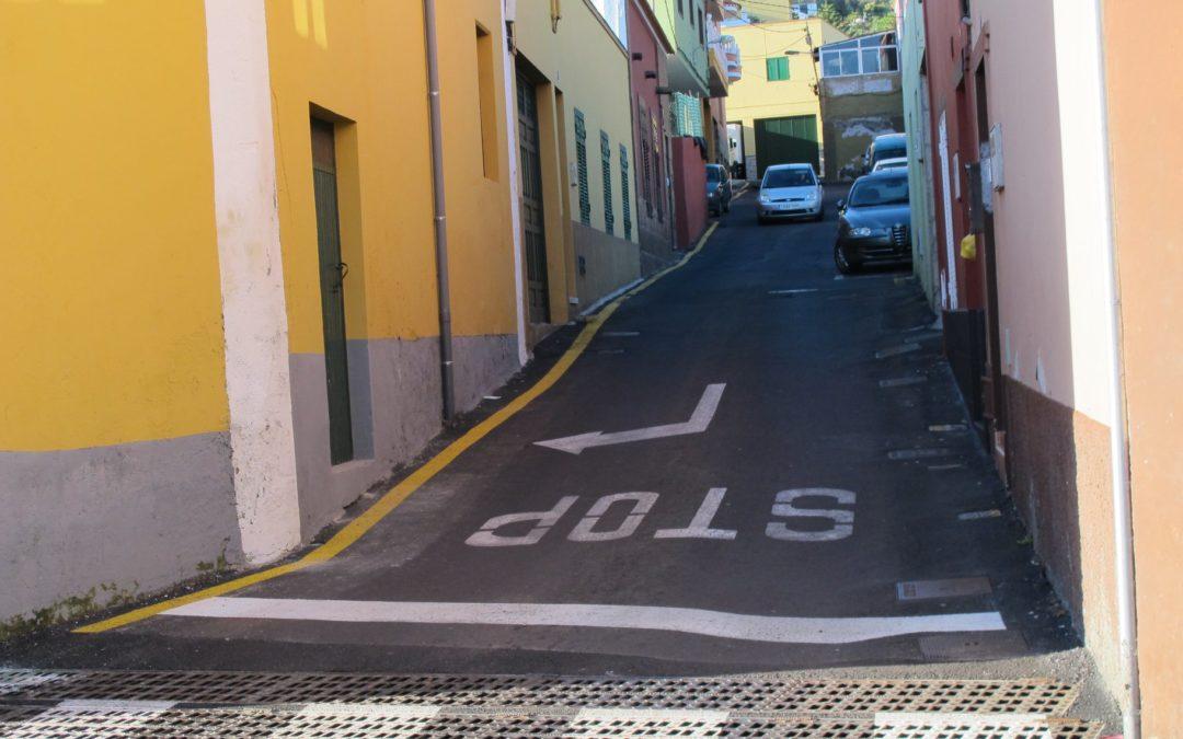 Cortes de tráfico por las obras de las calles El Brezal y Villanueva