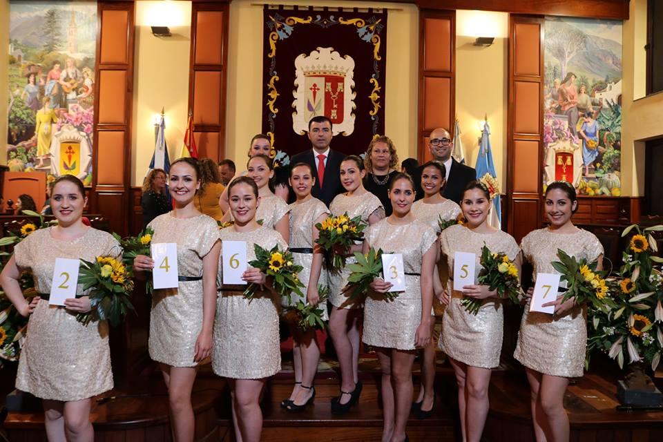 Una decena de jóvenes realejeras aspiran a suceder a Nerea Felipe López como Romera Mayor de las Fiestas de Mayo