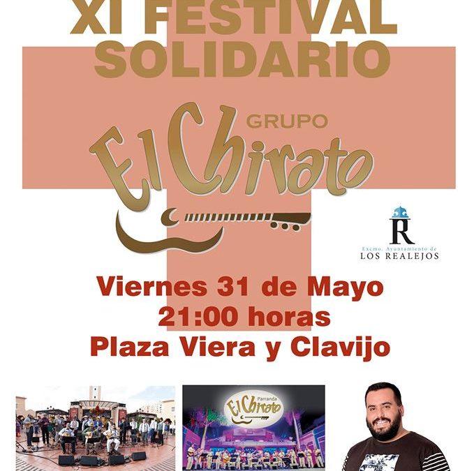 El XI Festival Solidario El Chirato propone risas y parranda este viernes en Los Realejos