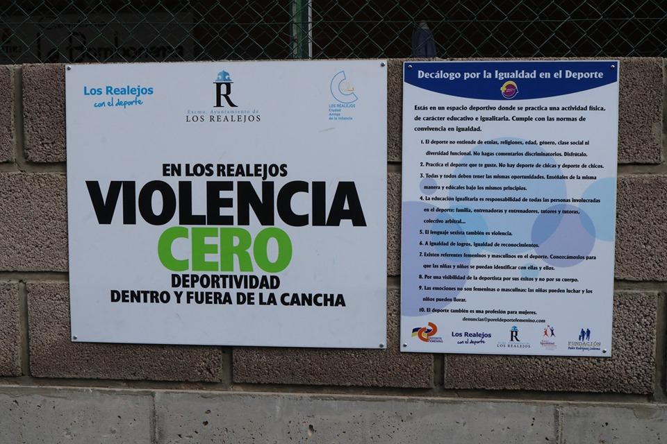 Los Realejos promueve un decálogo por la igualdad en sus instalaciones deportivas