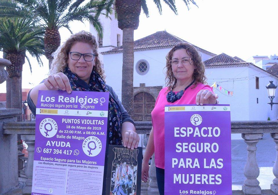 Los Realejos habilita el 'Punto violeta' junto al Ayuntamiento durante el Baile de Magos de este sábado