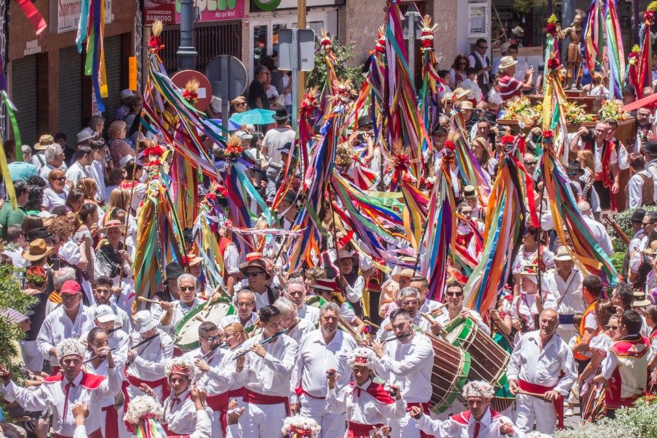 Los Realejos se viste de Romería este domingo en honor a San Isidro Labrador y Santa María de la Cabeza