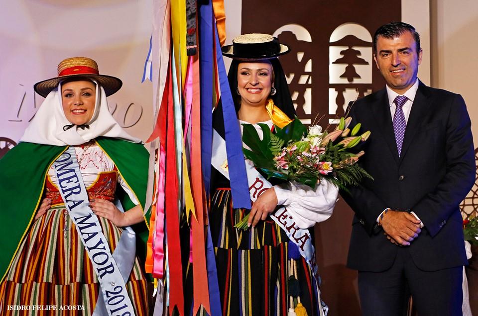 Adriana Hernández Febles, por Casino Cruz Santa, Romera Mayor de las Fiestas de Mayo de 2019 de Los Realejos