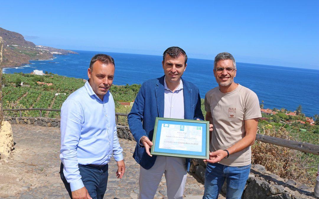 El Aula de la Naturaleza Rambla de Castro de Los Realejos cumple un lustro como Centro Azul Europeo