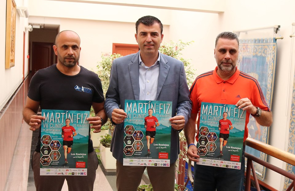 El atletismo internacional vuelve a mirar a Los Realejos con la VII edición del Clínic Martín Fiz del 19 al 21 de julio