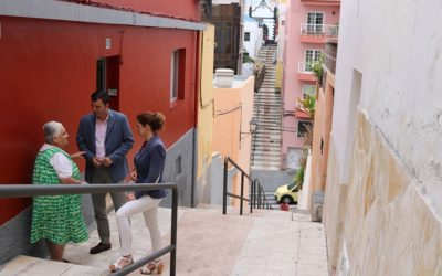 La rehabilitación del peatonal El Cantillo en Realejo Alto, se iniciará una vez concluido el curso escolar