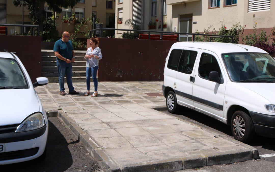 El Ayuntamiento inicia el lunes en La Montaña un proyecto integral de mejora en Achamán y Princesa Dácil