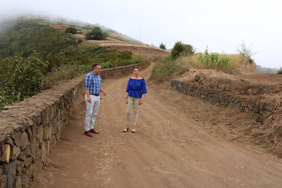 A principios de la próxima semana se inicia la pavimentación del camino rural La Balona