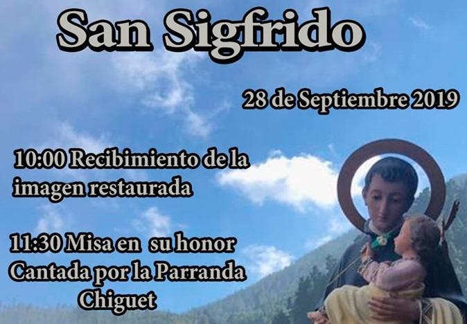 Caminata, misa, almuerzo y promoción de tradicionales este sábado en Chanajiga para festejar a San Sigfrido Abad