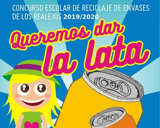 La infancia realejera vuelve a proponerse 'Dar la lata' con el reciclaje en la cuarta edición del concurso escolar
