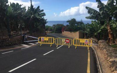 El Ayuntamiento acometerá el refuerzo del talud de acceso a la playa de El Socorro tras los desprendimientos de las últimas horas