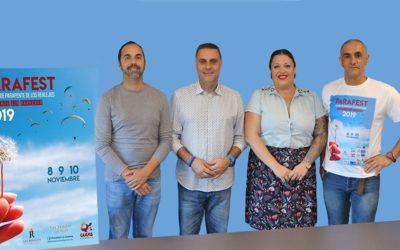 La VII edición del festival de parapente de Los Realejos vuelve a ofrecer vuelos a personas con discapacidad
