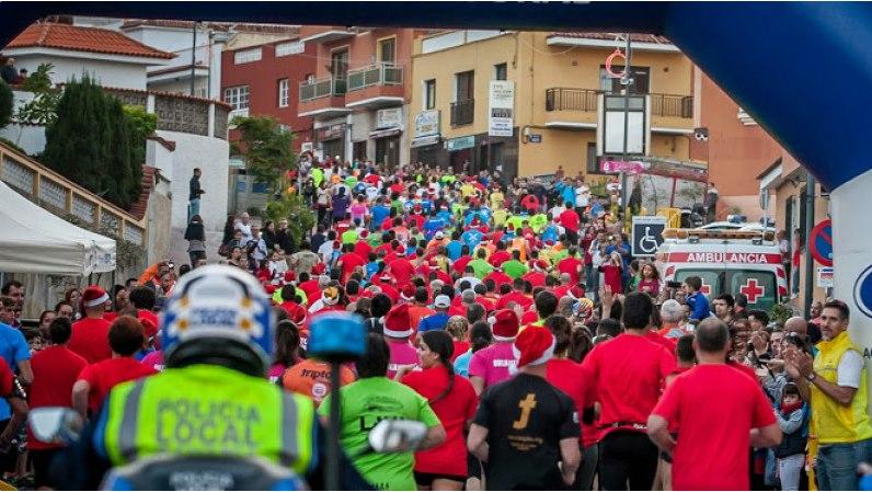 La VII San Silvestre Realejera reunirá mañana sábado a más de 500 participantes en Toscal Longuera