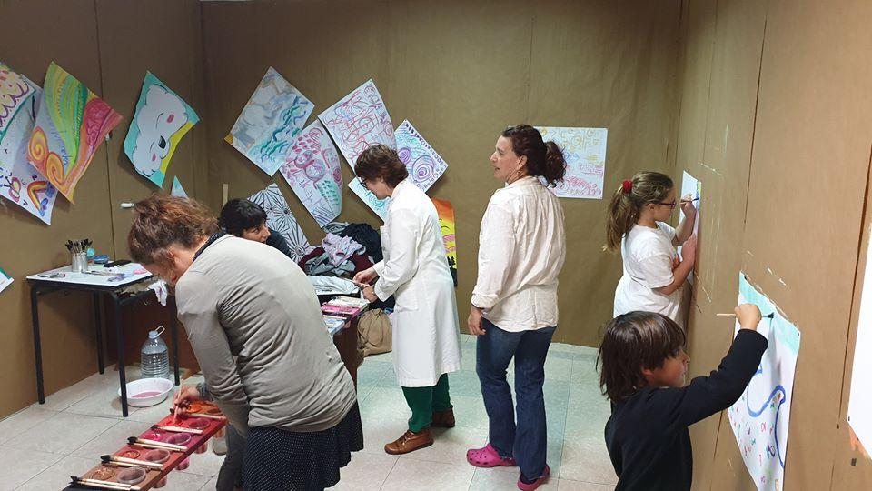 Los Realejos estrenó esta semana un novedoso taller de 'Educación creadora' y expresión humana