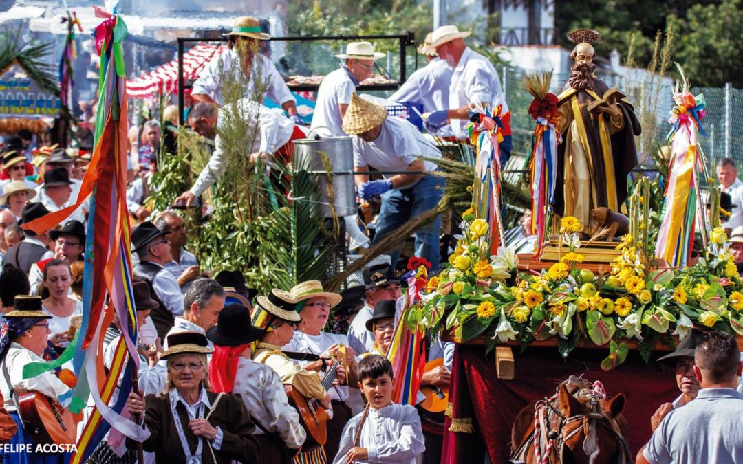 La temporada de romerías de Canarias arranca en Tigaiga este domingo en honor a San Antonio Abad