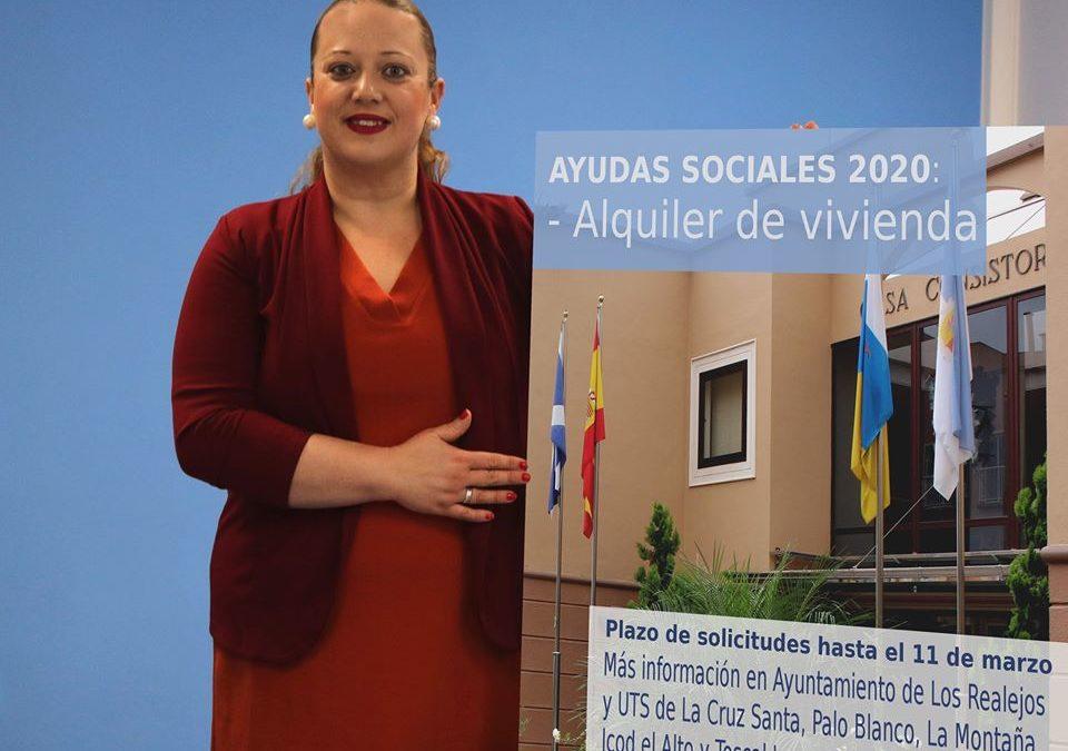 Los Realejos destina 80.000 euros en ayudas al alquiler de vivienda que se pueden solicitar hasta el 11 de marzo