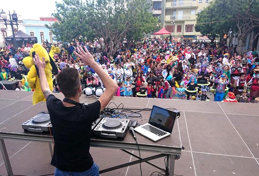 Los Realejos propone un domingo en familia con 10 horas de programación durante su Carnaval de Día
