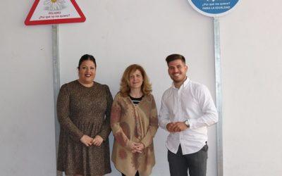 Los Realejos instala señales de su campaña municipal por la igualdad en los centros educativos de Secundaria