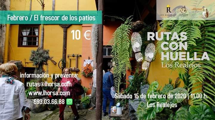 """La """"ruta con huella"""" del mes de febrero invita a descubrir Los Realejos a través del frescor de sus patios"""