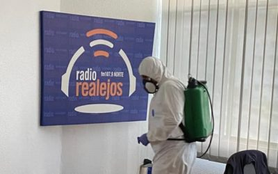 Los Realejos intensifica las labores de limpieza y desinfección de con motivo del COVID-19