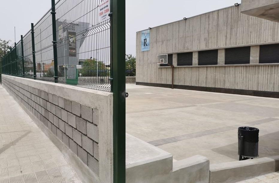 Los Realejos crea una nueva cancha deportiva abierta en La Carrera