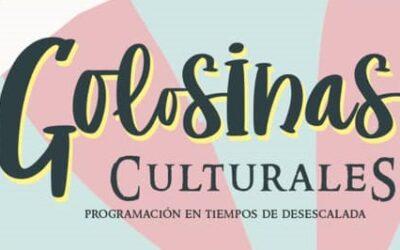 Golosinas Culturales continúa con su actividad presencial este fin de semana