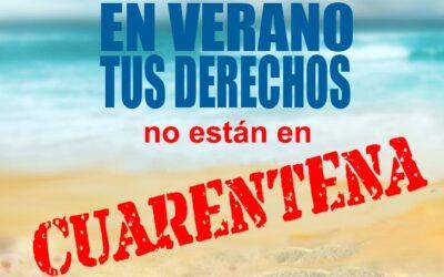 La OMIC de Los Realejos lanza la campaña informativa 'En verano tus derechos no están en cuarentena'