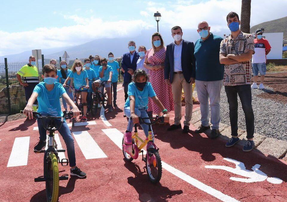 Los Realejos estrena un parque para bicis y juegos