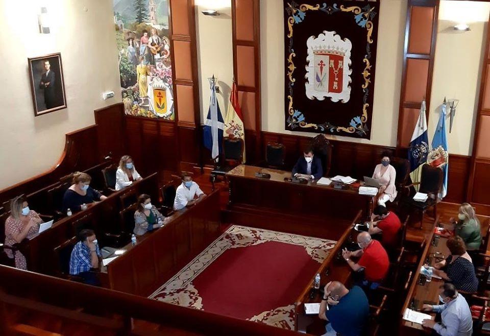 La corporación de Los Realejos aprueba un manifiesto de apoyo al sector y la industria cultural de la localidad