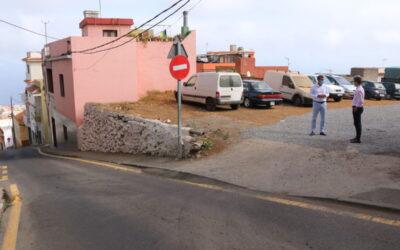 El Ayuntamiento de Los Realejos crea una zona de aparcamientos en El Horno