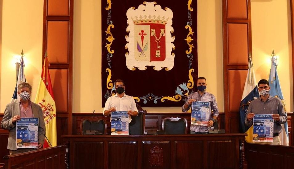 Los Realejos acoge este viernes y sábado la salida de la IX Clásica Norte sin público por las restricciones por Covid-19