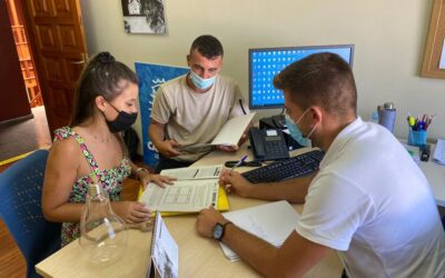 30 jóvenes participan ya en el proyecto local para atacar el desempleo joven con itinerarios personalizados de inserción