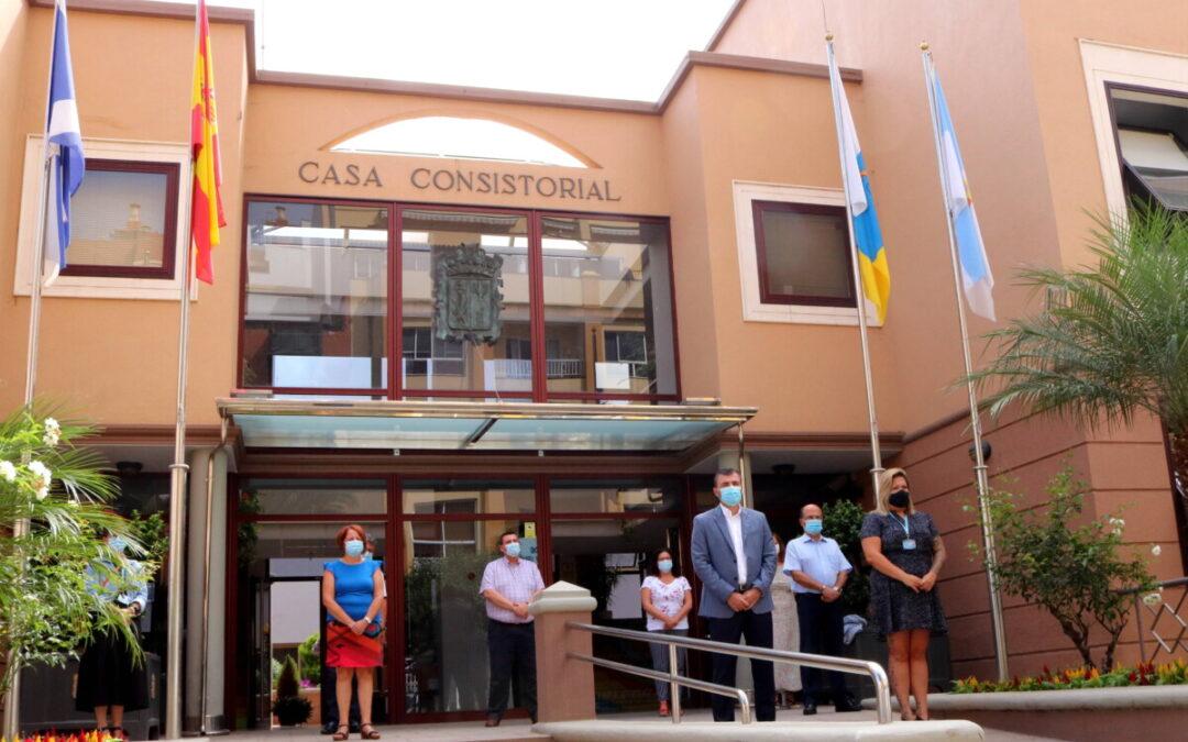Los Realejos condena públicamente la violencia machista tras el caso acaecido la pasada semana en La Laguna