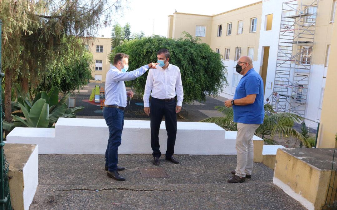 El Instituto Canario de Vivienda invierte 140.000 euros en mejorar las Viviendas Achamán de la Montaña