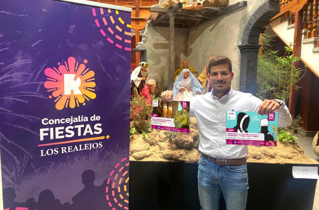 Los Realejos celebra el Fin de Año Infantil este miércoles con una retransmisión virtual desde las 18:00 horas