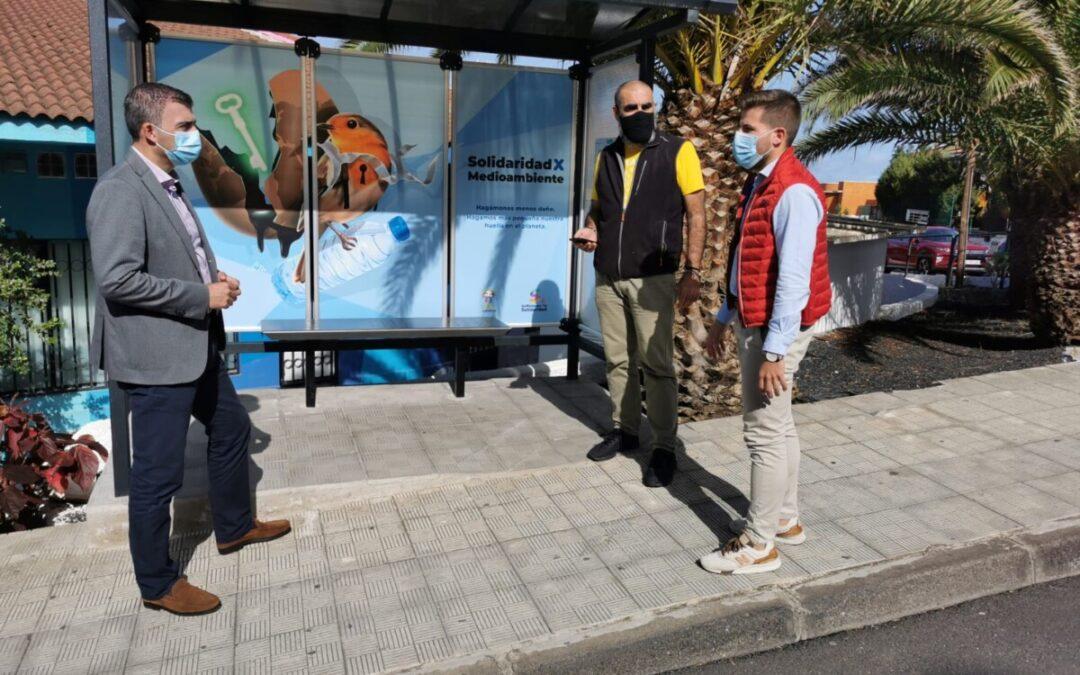 'Los Realejos por la solidaridad' conmemora sus 25 años con sensibilización a pie de calle a través del arte urbano